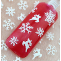 Christmas Nailsticker Renntier