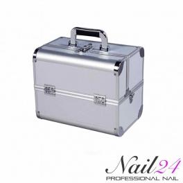 Wonderbaarlijk Mobiler Kosmetik Koffer Silber LM-94